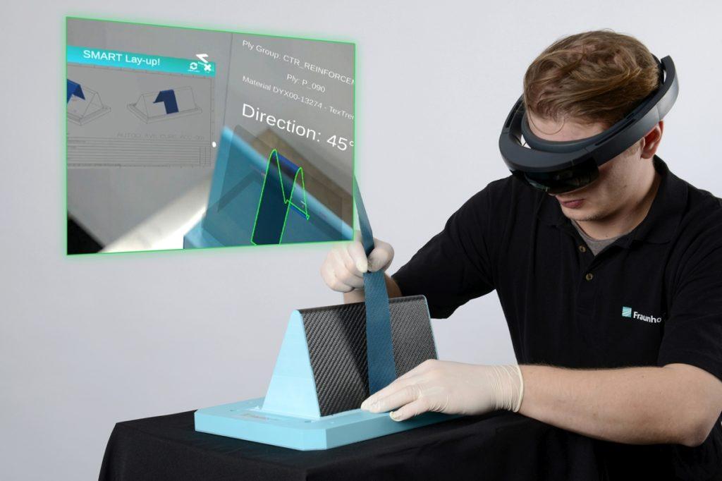 Faserverbundkunststoffe: Mit Augmented Reality wird die Fertigung einfacher