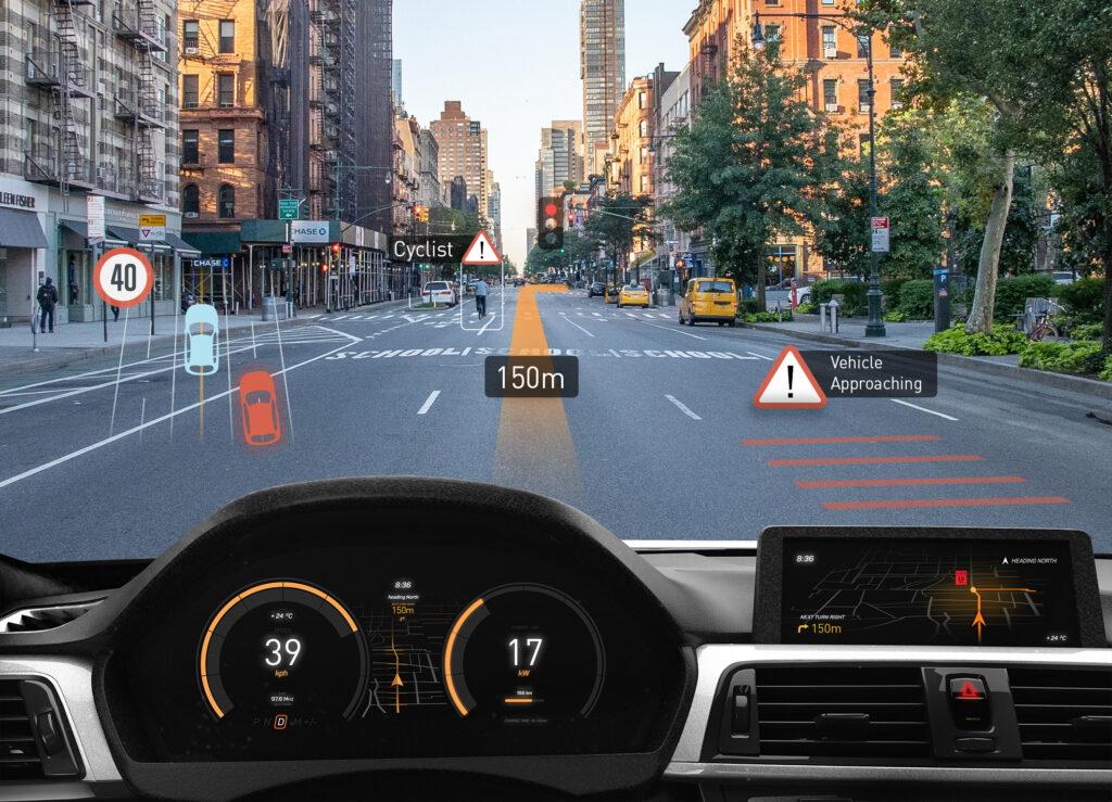 MEMS-Scanner für AR-Head-up-Display im Auto: Platzsparendes Produktdesign auch für kleinere PKW
