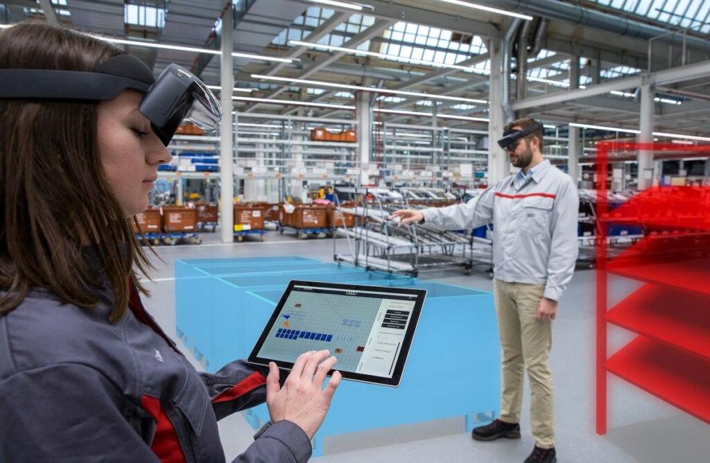 Logistikplanung mit Augmented Reality