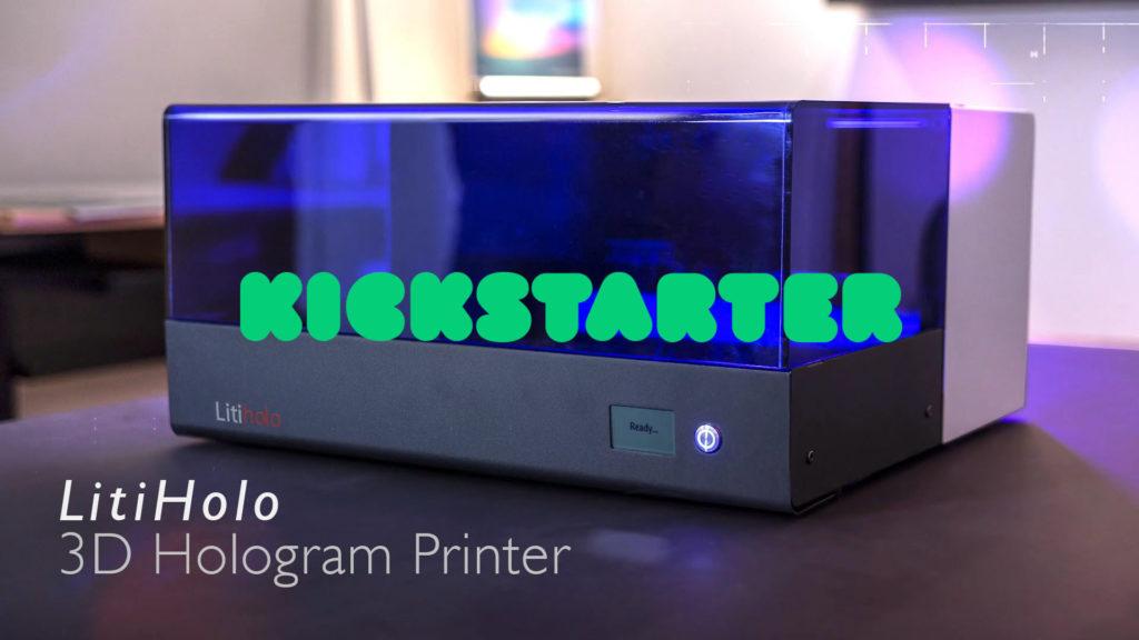 Hologramm-Drucker: Kickstarter-Kampagne von LitiHolo