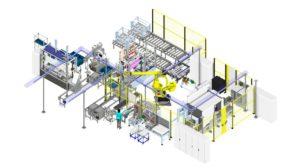 3D-Simulation beim Sondermaschinenbauer mit Visual Components