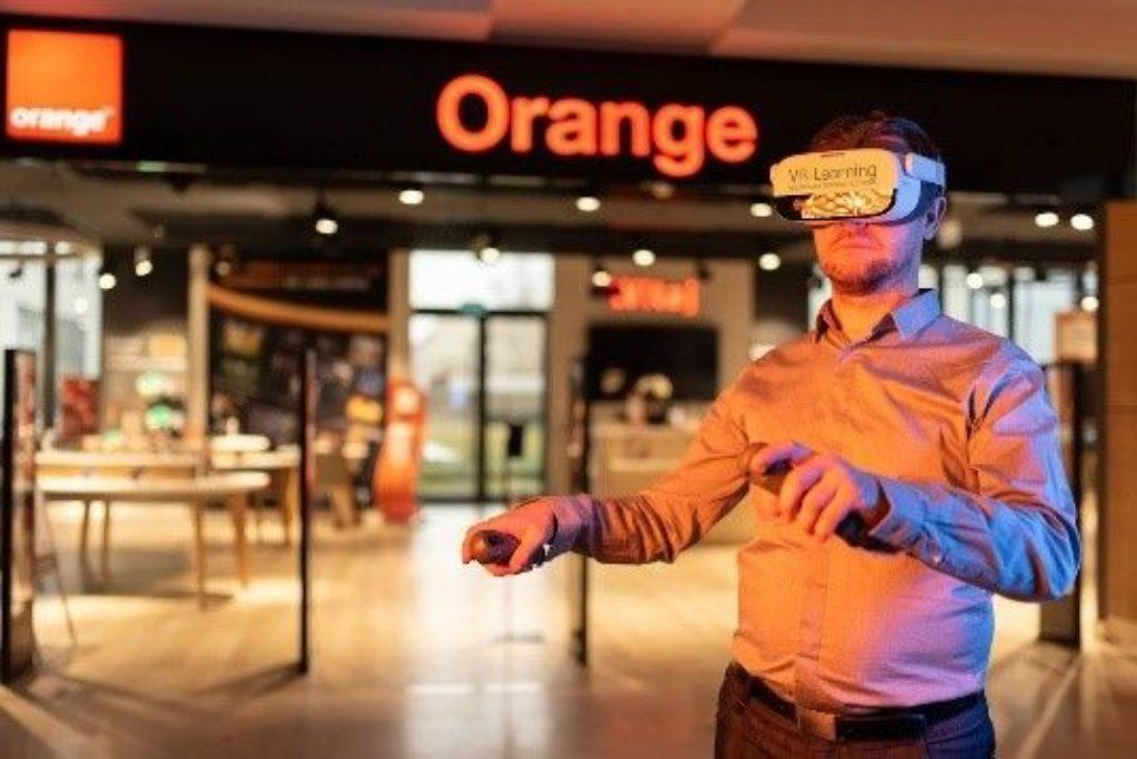 VR-Schulung bei Orange Polska