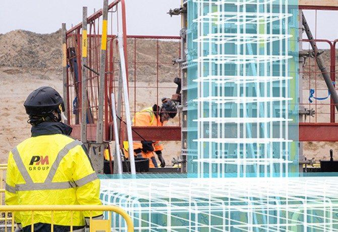 AR-Technologie für Bau eines Rechenzentrums