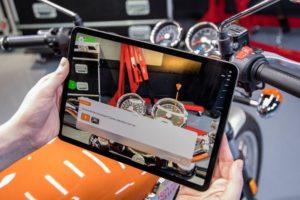 Arbeitsanweisungen per Augmented Reality: Vuforia Instruct