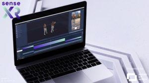 WebAR: Hologramme mit einem Klick und Sense XR erstellen