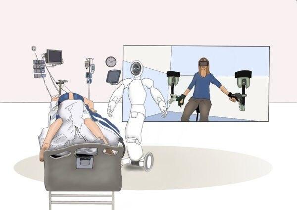 Fernsteuerung für Roboter