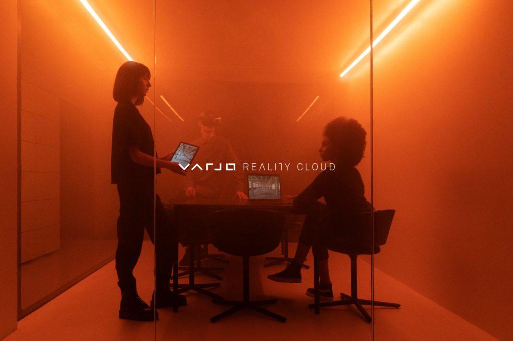 Cloud-Plattform für VR-Anwendungen und Collaboration von Varjo
