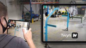 Inspektionssystem: mobile Qualitätsprüfung mit Augmented Reality und digitalem Zwilling