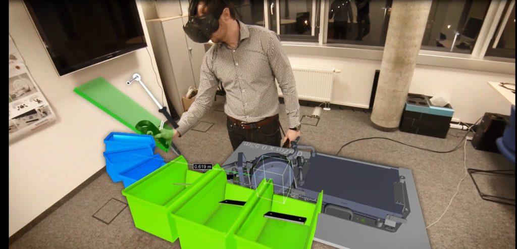 Fertigungslinien mit VR-Lösungen planen: NeoLog und We Are 4 Industry