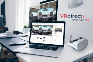Virtual Reality-Anwendungen im Unternehmenskontext: VRdirect Studio