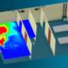 Strömungssimulation im Leishenshan-Krankenhaus